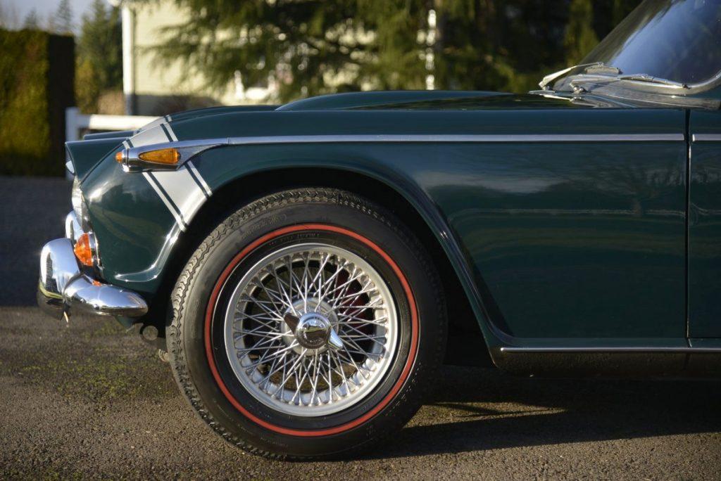 Triumph TR250 de janvier 1968,