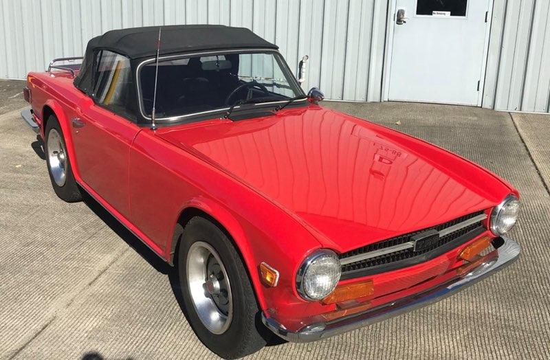 Triumph TR6 Overdrive 1973